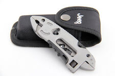 Jeep Multi Tool Set Adjustable Wrench Jaw Screwdriver Pliers Knife Survival Gear