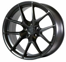 20x9/10.5 AodHan LS007 5X114.3 +30/35 Black Wheels Fits Nissan 350Z Is250 350