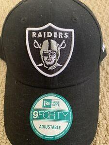 Las Vegas Raiders New Era 9FORTY NFL Adjustable Hat