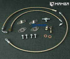 Twin Turbo Oil Feed Line Kit for Nissan VG30DET w/ Garrett T3/T4 Greddy T67
