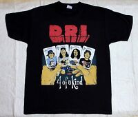D.R.I. FOUR OF A KIND DIRTY ROTTEN IMBECILES CROSSOVER THRASH NEW BLACK T-SHIRT