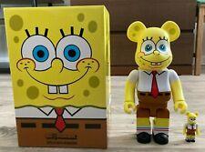 Medicom Bearbrick 100% + 400% Set SpongeBob SquarePants Be@rbrick Authentic