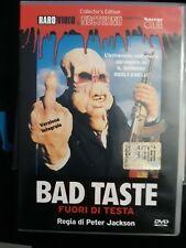 dvd bad taste peter Jackson    Rarovideo