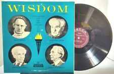 Wisdom Volume 2 - Conversations with Elder Wise Men of Our Day - DECCA 9084