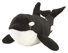 Wild Republic Baby Blackfish Orca Whale Ocean Plush Animal Stuffed Teddy Animals