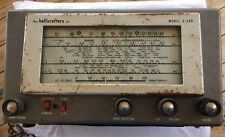 The Hallicrafters Multiband Shortwave Radio