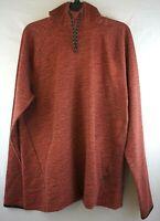 Men's Old Navy Dynamic Fleece Long-Sleeve Pullover Marooned Hoodie Large NWT