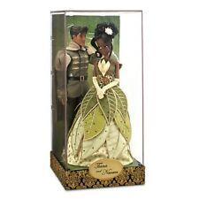 Disney Fairytale Designer Couples Doll Collection - Tiana and Naveen - IN HAND
