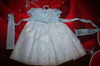 Kleid baby KINDER sommer Party Abent Kleid von MARI PEPA Gr.80  blau-gold NEU
