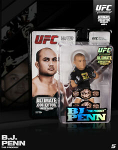 Round 5 UFC Series 12 Limited Edition Action Figure-BJ Penn-Championship Edition