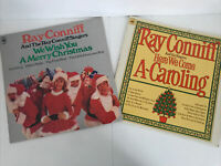 Ray Conniff We Wish You A Merry Christmas LP + Here We Come A-Caroling LP Vinyl