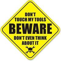 "Mechanic Shop Rules Funny Car Truck Tool Box Decal Sticker 2.5/"" x 5.25/"" p438 2"