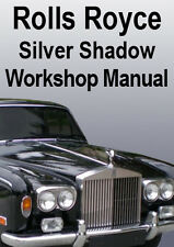 ROLLS ROYCE SILVER SHADOW WORKSHOP MANUAL