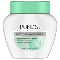 New Pond's Cleanser Cold Cream 6.1 Oz.