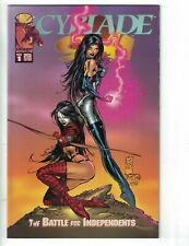 Cyblade/Shi: The Battle for Independents #1C VF; Image | save on shipping - deta