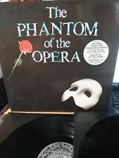 THE PHANTOM OF THE OPERA VINYL 2 × LP! EX VINYL/EX SLEEVE 1987 WITH BOOKLET