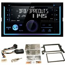 JVC KW-DB93BT USB MP3 DAB+ Bluetooth CD Einbauset für Suzuki Grand Vitara JT