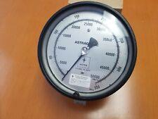 Astra High Pressure Gauge 50000 Psi 350 Mpa Astragauge 6 38 Dial Female Con