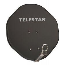 Telestar alurapid 45 gris antena parabólica satélites espejo parabolica