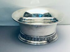 "Georg Jensen USA Sterling Silver Bowl, #800, 2.5"" tall x 5 1/8"" wide"