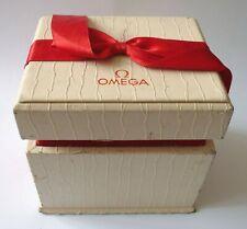 Ancien boite écrin pour montre bracelet OMEGA homme watch box