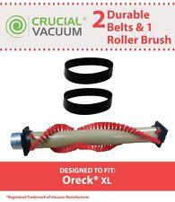 Replacement Oreck XL Roller Brush & 2 Belts Part # 016-1152 75202-01 XL010-0604