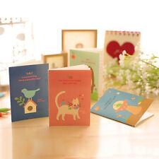 Animal Diary Notebook Paper Writing Memo Planner  Journal Travel abca