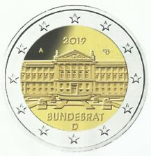 DUITSLAND 2019 - 2 euromunt - 70 jaar Bondsraad/70 Ans Conseil Fédéral-UNC