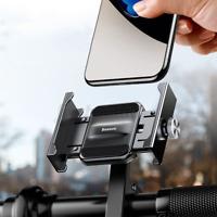 Baseus Alliage d'aviation Vélo Moto Scooter Guidon Support Pr Téléphone GPS FR