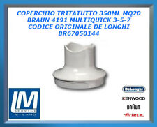 COPERCHIO TRITATUTTO 350ML MQ20 BRAUN 4191 MULTIQUICK 3-5-7 BR67050144 DE LONGHI