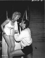 SUSAN OLIVER LARRY BLYDEN BORIS KARLOFF THRILLER RARE 1961 NBC TV PHOTO NEGATIVE