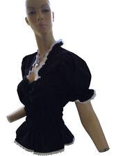 Taillenlang Damenblusen,-Tops & -Shirts mit Baumwollmischung für Business ohne Mehrstückpackung