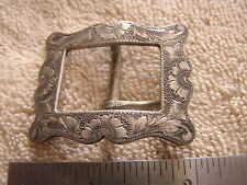Vintage Don Ellis Co. Seattle Belt Buckle Sterling Silver
