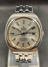 Rare Vintage Doxa Conquistador, Cal 2789,J 17 Automatic men's watch Day Date