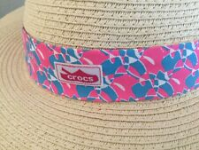 Crocs Wide brim women's Sun Hat NEW