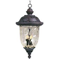 Maxim Carriage House Dc 3-Light Outdoor Hanging Lantern Bronze - 3428Wgob