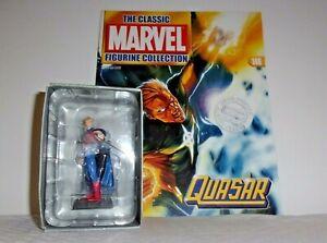 Eaglemoss Lead Classic Marvel Figurine Collection QUASAR #146 w/Magazine MIB