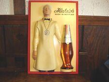 Rare Anheuser Busch Michelob 3D Bartender Beer Sign