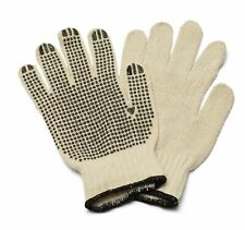 Single PVC Dotted Gloves Men's Size 48 Pairs + Free Shipping