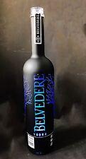 BELVEDERE Vodka DEL Black sabre Midnight Saber 1,75 L bouteille vide deco special