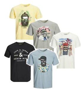 JACK & JONES Herren T-Shirts Rundhals Slim / Regular cool hip