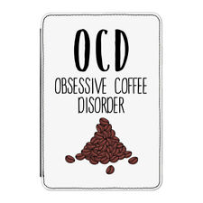 "Coffee OCD Case Cover for Kindle 6"" E-reader - Funny"