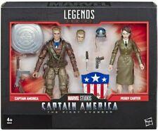 Figurines Hasbro avec captain america