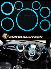 MINI Cooper/S/un tratteggio R56 R57 R58 COUPE R59 Roadster Blu Interni Kit Anello
