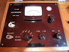 Electrometer  T.I.A. Ltd VC99 Vintage Science Lab Apparatus Physics Electronics