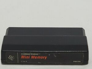 Mini Memory Texas Instruments TI-99 Mini Memory Command Module Cart TI-99/4A