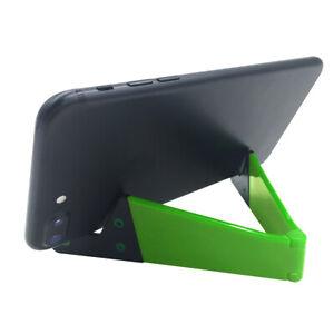 Universal Mobile Phone Tablet Desk Stand Bracket Holder Foldable Pocket Size 50