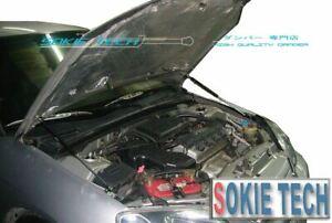 Carbon Fiber Strut Hood Shock Lift Stainless Damper Kit fit 90-93 Acura Integra