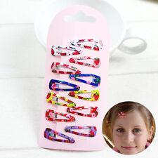 60pcs BB Snap Hair Clip Hairpin Barrette Headwear Accessories Kids Girl Children