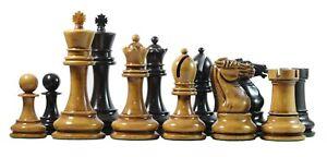 Reproduction BCC 1900-01 Edition Staunton Stroud Club Ebony Chess